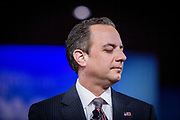 Reince Priebus at the CPAC, Conservative Political Action Conference back when he was White House Chief of Staff