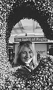 London, Great Britain,  &quot;Topiary Exibit&quot; at the 2015 Rugby World Cup Final. New Zealand vs Australia,, Twickenham Stadium,London. England,, Saturday  31/10/2015. <br /> [Mandatory Credit; Peter Spurrier/Intersport-images] Black and White Film, Kodak Tri-X [rated 320 ASA], Camera Contax G2 with Ziess 28mm f2.0.