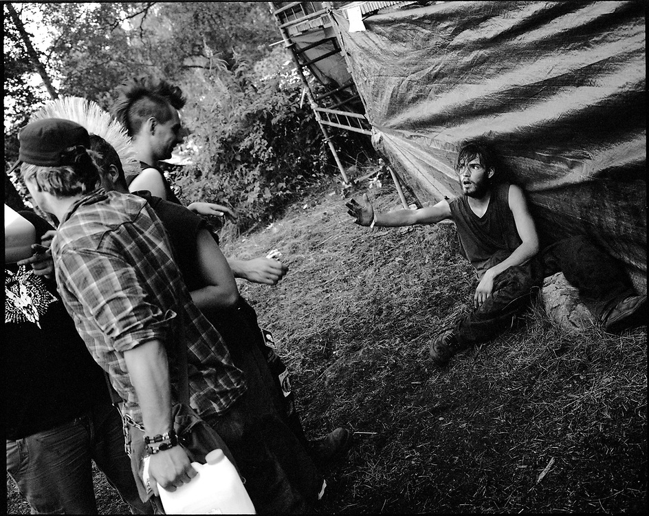Puntala Rock is an annual underground punk rock festival held since 1982 in a small camping site in Lempäälä, Finland. Every year it attracts a variety of punk bands and few hundred hardcore punk lovers from Finland and across the Europe.