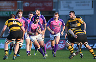 Newport RFC v Pontypridd RFC<br /> <br /> Photographer Mike Jones / Replay Images<br /> Rodney Parade, Newport.<br /> Wales - 8th May 2018.<br /> <br /> Newport RFC v Pontypridd RFC<br /> Principality Premiership<br /> <br /> World Copyright © Replay Images . All rights reserved. info@replayimages.co.uk - http://replayimages.co.uk