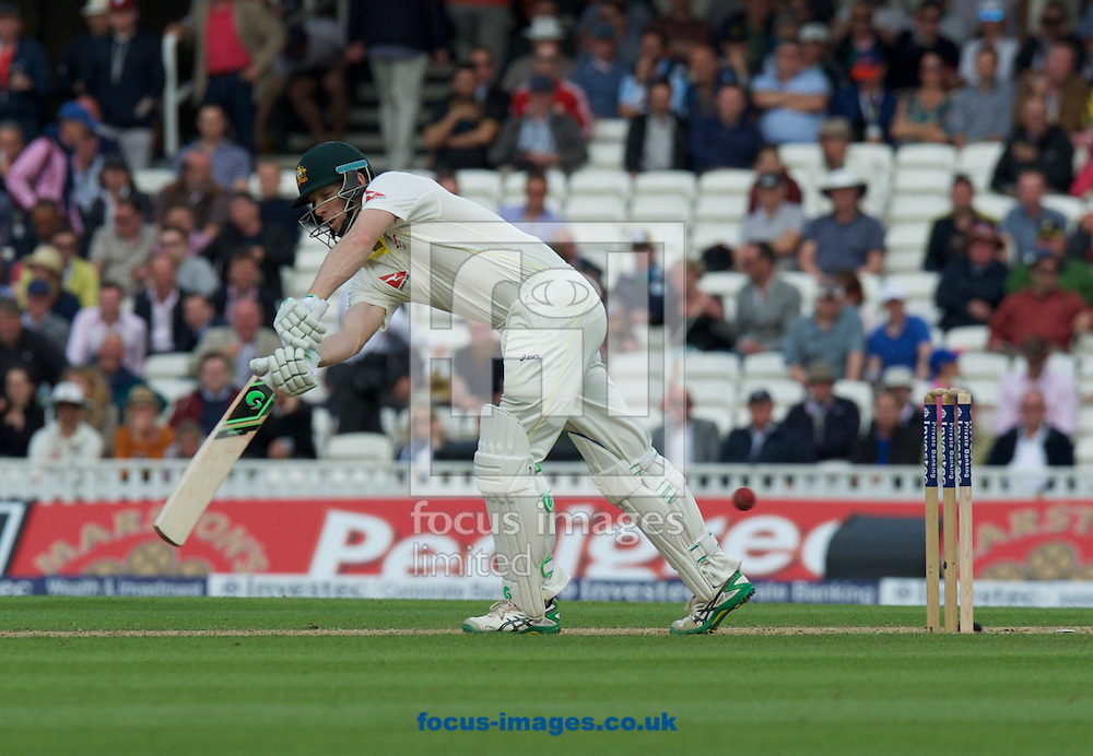 Adam Voges of Australia hits a four during the 5th Investec Ashes Test Match match at the Kia Oval, London<br /> Picture by Alan Stanford/Focus Images Ltd +44 7915 056117<br /> 20/08/2015