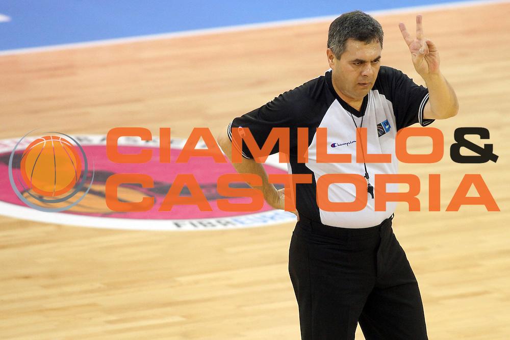 DESCRIZIONE : Ortona Italy Italia Eurobasket Women 2007 Bielorussia Italia Belarus Italy<br /> GIOCATORE : <br /> SQUADRA : Arbitro Referees<br /> EVENTO : Eurobasket Women 2007 Campionati Europei Donne 2007 <br /> GARA : Bielorussia Italia Belarus Italy<br /> DATA : 03/10/2007 <br /> CATEGORIA :<br /> SPORT : Pallacanestro <br /> AUTORE : Agenzia Ciamillo-Castoria/E.Castoria<br /> Galleria : Eurobasket Women 2007 <br /> Fotonotizia : Ortona Italy Italia Eurobasket Women 2007 Bielorussia Italia Belarus Italy<br /> Predefinita :