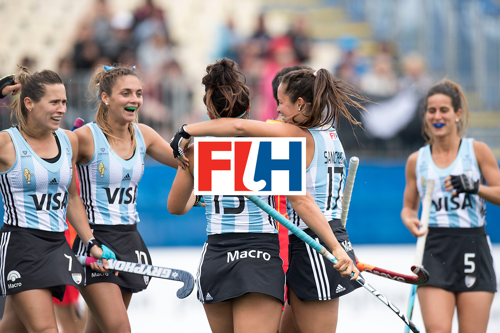 AUCKLAND - Sentinel Hockey World League final women<br /> Match id 10294<br /> 04 Argentina v China.<br /> Foto: goal celebration..<br /> WORLDSPORTPICS COPYRIGHT FRANK UIJLENBROEK