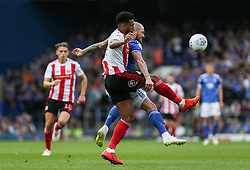 Jordan Willis of Sunderland and James Norwood of Ipswich Town tussle for the ball - Mandatory by-line: Arron Gent/JMP - 10/08/2019 - FOOTBALL - Portman Road - Ipswich, England - Ipswich Town v Sunderland - Sky Bet League One