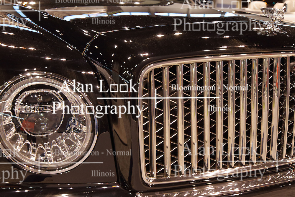09 February 2017: Bentley Mulsanne<br /> <br /> First staged in 1901, the Chicago Auto Show is the largest auto show in North America and has been held more times than any other auto exposition on the continent.  It has been  presented by the Chicago Automobile Trade Association (CATA) since 1935.  It is held at McCormick Place, Chicago Illinois<br /> #CAS17