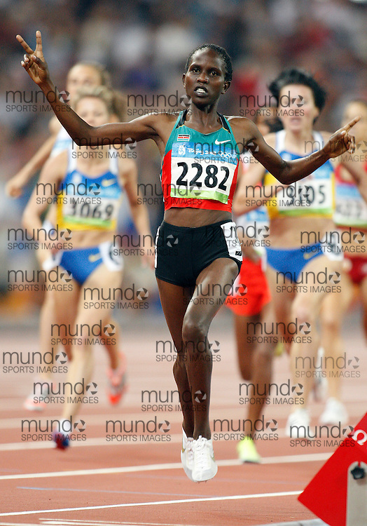 2008 Beijing Olympic Games- Day 9 - August 23rd, 2008- Evening *** Nancy Jebet Langat -- 1500m  *** Day 9