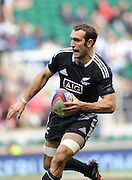 LONDON, ENGLAND - Sunday 11 May 2014, Adam Whitelock of New Zealand during the Cup final match between New Zealand and Australia at the Marriott London Sevens rugby tournament being held at Twickenham Rugby Stadium in London as part of the HSBC Sevens World Series.<br /> Photo by Roger Sedres/ImageSA