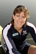 Caversham, Great Britain,  Katherine GRAINGER, at the Redgrave Pinsent Rowing Lake. GB Rowing Training centre. Wed. 18.03.2009.  [Mandatory Credit. Peter Spurrier/Intersport Images]