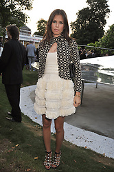 DASHA ZHUKOVA at the annual Serpentine Gallery Summer Party sponsored by Canvas TV  the new global arts TV network, held at the Serpentine Gallery, Kensington Gardens, London on 9th July 2009.