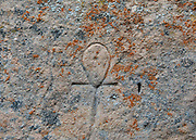 Hickison Petroglyph Recreation Area, near Hickison Summit, Toquima Range, Simpson Park Mountains, near Austin, Nevada, USA.
