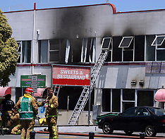 Auckland-Fire in Indian sweet shop, Manurewa