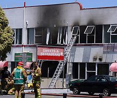 Auckland-Fire in Indian sweet shop, Manurewa