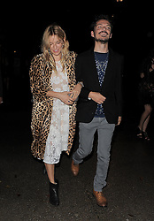 Sienna Miller and Mathew Williamson attend LFW: Mathew Williamson - s/s 2014 catwalk show in London 15/09/2013<br />