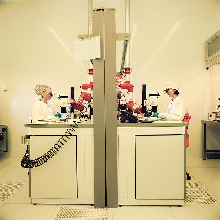 Stanza fotolito e controllo<br /> <br /> photolithography and control room
