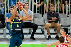 Anthony Randolph of Slovenia during basketball match between National teams of Slovenia and Turkey in Round #8 of FIBA Basketball World Cup 2019 European Qualifiers, on September 17, 2018 in Arena Stozice, Ljubljana, Slovenia. Photo by Urban Urbanc / Sportida