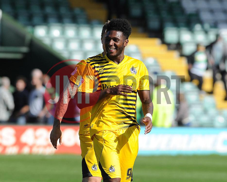 Ellis Harrison of Bristol Rovers - Mandatory byline: Neil Brookman/JMP - 07966386802 - 15/08/2015 - FOOTBALL - Huish Park -Yeovil,England - Yeovi Town v Bristol Rovers - Sky Bet League One