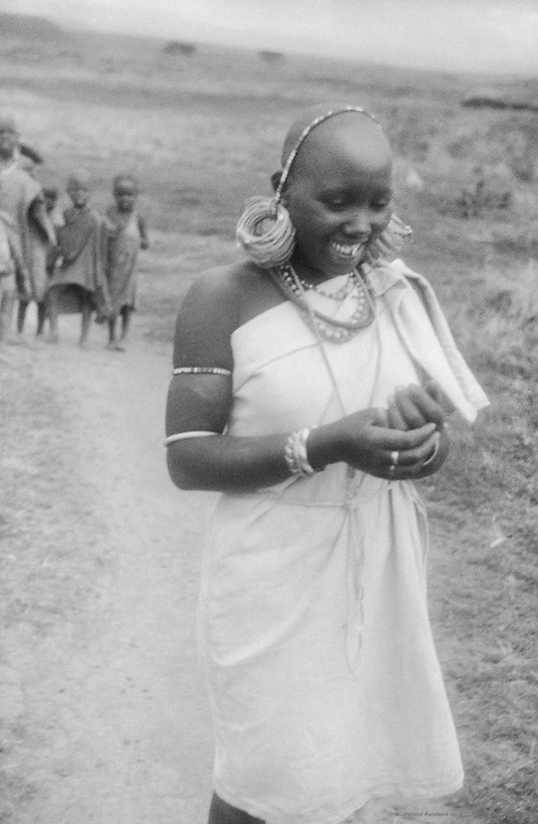 Kikuyu Mother and Child, Great Rift Valley, Kenya, Africa, 1937