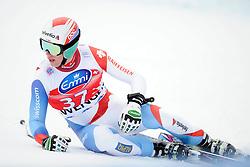 19.01.2013, Lauberhornabfahrt, Wengen, SUI, FIS Weltcup Ski Alpin, Abfahrt, Herren, im Bild Marc Gisin (SUI) enttaeuscht im Ziel // reacts after his run of mens downhillrace of FIS Ski Alpine World Cup at the Lauberhorn downhill course, Wengen, Switzerland on 2013/01/19. EXPA Pictures © 2013, PhotoCredit: EXPA/ Freshfocus/ Urs Lindt..***** ATTENTION - for AUT, SLO, CRO, SRB, BIH only *****