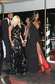 Donatella Versace and Naomi Campbell in Venice