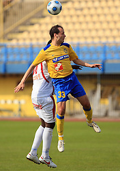 Sasa Bozicic at 33rd Round of PrvaLiga Telekom Slovenije 2008/2009 league match between NK Luka Koper and NK Labod Drava Ptuj, on May 9, 2009, in SRC Bonifika, Koper, Slovenia. Drava won 2:1. (Photo by Vid Ponikvar / Sportida)