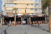 Heart Break pub cafe, Levante beach, Benidorm, Alicante province, Spain