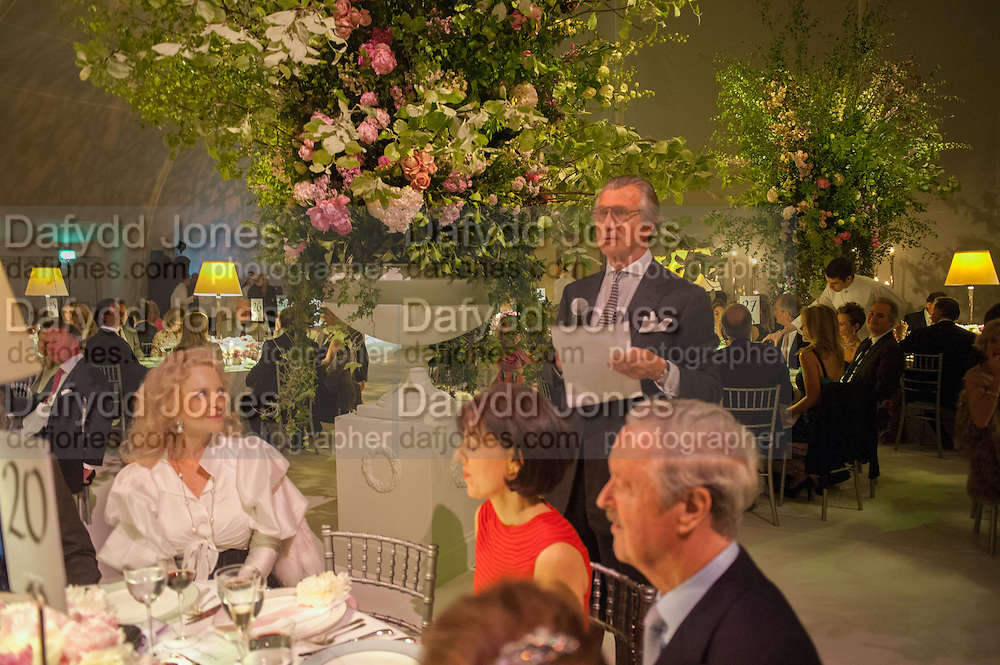 PRINCESS MICHAEL OF KENT; ARNAUD BAMBERGER; THE DUKE OF MARLBOROUGH- , CARTIER CHELSEA FLOWER SHOW DINNER Dinner hosted by Cartier in celebration of the Chelsea Flower Show was held at Battersea Power Station. 22 May 2012