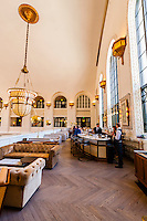 The Cooper Lounge on the mezzanine of the newly renovated Union Station in Downtown Denver, Colorado USA.