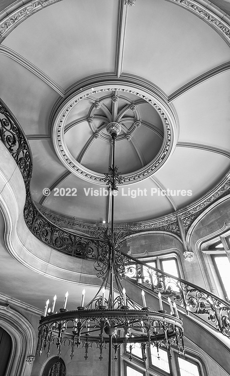 Staircase Ceiling at the Biltmore Estate in Asheville, North Carolina