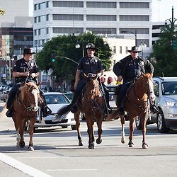 LAPD Mounted Police