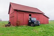 Red Barn and Truck, Mattituck, NY