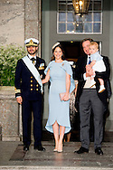 STOCKHOLM - 27-5-2016  the christening- of Prince Oscar Carl Olof  at the royal palace in Stockholm Zweden . Crown Princess Victoria and Prince Daniel and Princess Estelle  King Carl XVI Gustaf and queen Silvia , Prince Carl Philip, Princess Sofia, Princess Madeleine, Christopher O&rsquo;Neill Princess Leonore of Sweden  Prince Nicolas of Sweden . COPYRIGHT ROBIN UTRECHT Crown Princess Mette-Marit Crown Princess Victoria of Sweden and Prince Daniel with Prince Oscar Princess Estelle Crown Prince Frederik Crownprince Haakon, Crownprincess Mette-Marit Crownprince Frederik and Crownprincess MarySTOCKHOLM - 27-5-2016  doop van de christening- van prins Oscar Carl Olof bij het koninklijk paleis in Stockholm Zweden. Kroonprinses Victoria en prins Daniel en Prinses Estelle Koning Carl XVI Gustaf en koningin Silvia, prins Carl Philip, Princess Sofia, Prinses Madeleine, Christopher O'Neill Prinses Leonore van Zweden Prins Nicolas van Zweden. COPYRIGHT ROBIN UTRECHT<br /> Kroonprinses Mette-Marit Kroonprinses Victoria van Zweden en Daniel Westling met prins Oscar Prinses Estelle Kroonprins Frederik<br /> Kroonprins Haakon, Crownprincess Mette-Marit<br /> Kroonprins Frederik en Mary Crownprincess<br /> <br /> <br /> mette marit