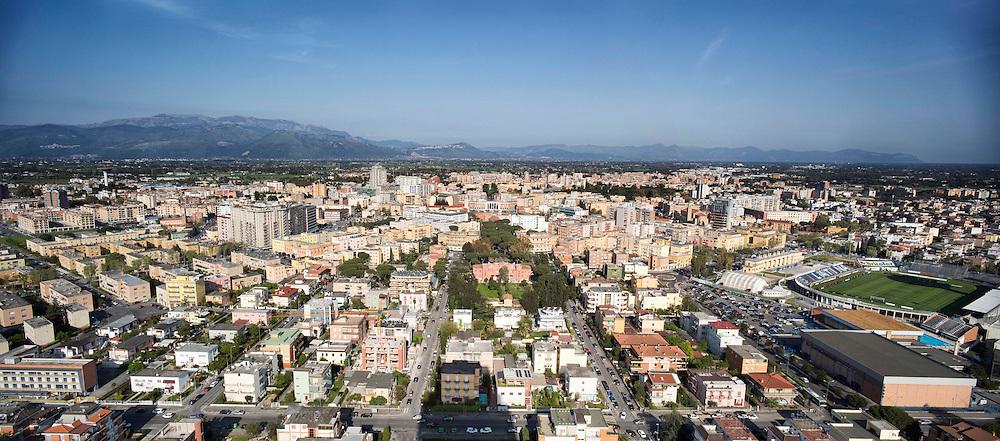 Panoramica della citt&agrave; di Latina<br /> <br /> overview of Latina