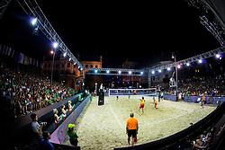 FIVB  Beach Volleyball World Tour Ljubljana 2018, on August 5, 2018 in Kongresni trg, Ljubljana, Slovenia. Photo by Ziga Zupan / Sportida