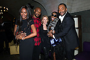 NEW YORK - DECEMBER 8:  Naomi Campbell, Tyson Beckford, Kylie Minogue, Foxy Brown and Lee Daniels attend an exclusive screening of the new FOX show 'Empire' at the Bryant Park Hotel on December 8, 2014 in New York City. (Photo by Ben Hider/PictureGroup)