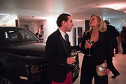 MATTHEW STEEPLES; MELLENEY SAMSUDIN, Hubert de Vinols hosts the launch of Tables D'Exception, Rolls Royce Showroom,  Berkeley Sq. London. 29 November 2018