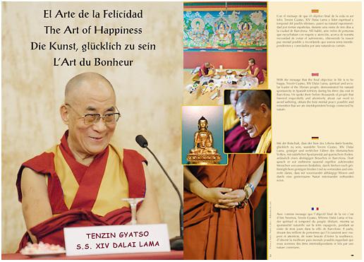 Interior - Ibicasa <br /> Dalai Lama in Barcelona