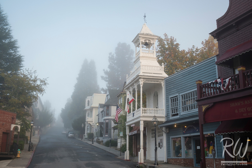 Main Street, Nevada City, California