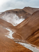 Kerlingarfjöll is a 1,477 m (4,846 ft) tall mountain range in Iceland