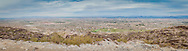 Panoramic photograph of the view of Phoenix from South Mountain