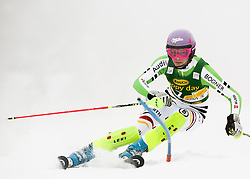 HOEFL-RIESCHMaria of Germany competes during 1st Run of 50th Golden Fox Audi Alpine FIS Ski World Cup Ladies Slalom, on February 2, 2014 in Podkoren, Kranjska Gora, Slovenia. (Photo By Matic Klansek Velej / Sportida.com)