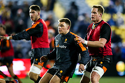 Duncan Weir of Worcester Warriors and GJ van Velze of Worcester Warriors - Mandatory by-line: Robbie Stephenson/JMP - 17/01/2020 - RUGBY - Sixways Stadium - Worcester, England - Worcester Warriors v Castres Olympique - European Rugby Challenge Cup
