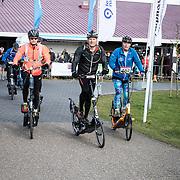 NLD/Biddinghuizen//20170305 - De Hollandse 100 - Stichting Lymph & Co 2017, Prins Pieter Christiaan op zijn stepfiets Elliptigo