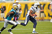 San Diego Chargers tight end Ladarius Green (89) during an NFL game against the Jacksonville Jaguars at EverBank Field on Oct. 20, 2013 in Jacksonville, Florida. San Diego won 24-6.<br /> <br /> &copy;2013 Scott A. Miller