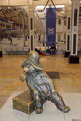 Paddington Bear statue, Paddington Station, London