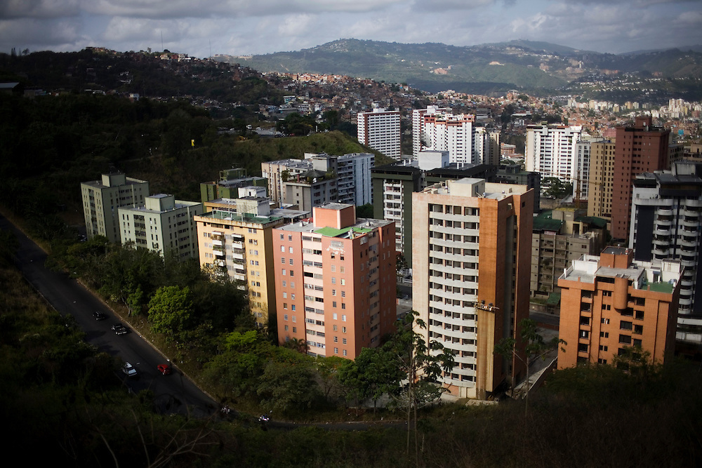 Petare, one of the largest and most dangerous slums of Caracas.