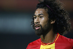 La Vere Corbin-Ong of Go Ahead Eagles during the Jupiler League match between Go Ahead Eagles and Almere City  at The Adelaarshorst on September 29, 2017 in Deventer, The Netherlands