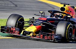 March 25, 2018 - Melbourne, Victoria, Australia - Motorsports: FIA Formula One World Championship 2018, Melbourne, Victoria : Motorsports: Formula 1 2018 Rolex  Australian Grand Prix,   #3 Daniel Ricciardo (AUS, Red Bull Racing) (Credit Image: © Hoch Zwei via ZUMA Wire)