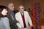 H.O. NAZARETH; RASHID AARAREN;  , Migrations private view, Tate Britain. London. 30 January 2012.