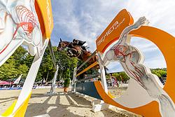 BRINKMANN Markus (GER), Pikeur Dylon<br /> Paderborn - OWL Challenge 5. Etappe BEMER Riders Tour 2019<br /> Großer Preis von Paderborn (CSI3*)<br /> Springprüfung mit 2 Umläufen, international <br /> BEMER Riders Tour, Wertungsprüfung 5. Etappe <br /> 15. September 2019<br /> © www.sportfotos-lafrentz.de/Stefan Lafrentz