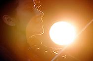 Une Violoniste s'entaine lors de la Nuit de Musee a Sion en 2008. (PHOTO-GENIC.CH/ OLIVIER MAIRE)